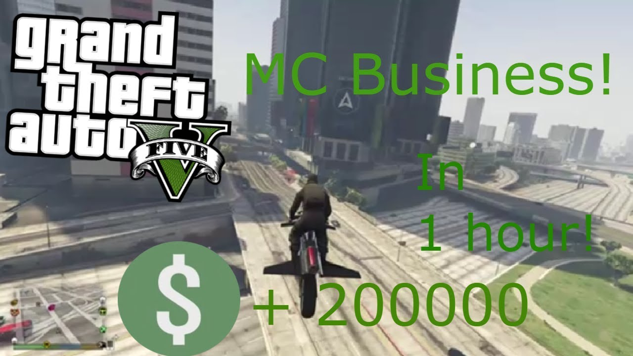 Best Solo Motorcycle Club Business Money Making Method Gta 5