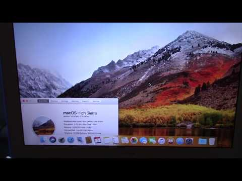 osx high sierra requirements