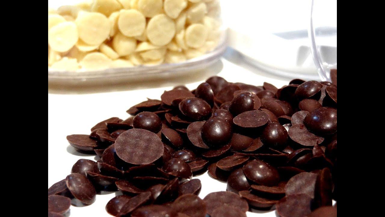 Como hacer chispas de chocolate caseras | Pepitas de chocolate ...