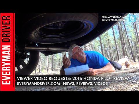Viewer Questions Answered: 2016 Honda Pilot On Everyman Driver