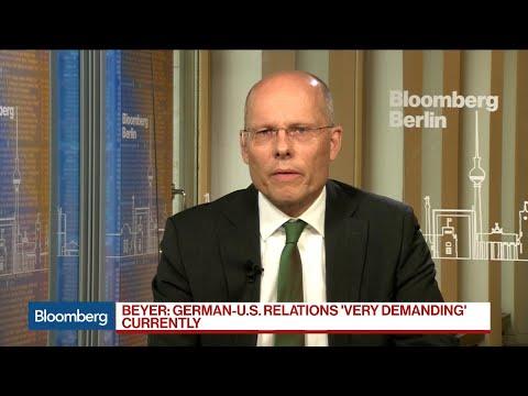 Germany's Peter Beyer Says German-U.S. Relations Is 'Very Demanding' Currently