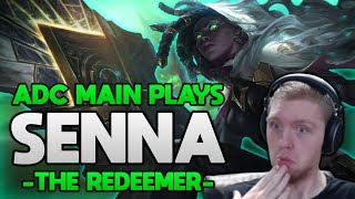 New ADC Support?? Senna is AMAZING!! - ADC Main plays Senna, The Redeemer
