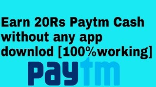{offer expire} Earn unlimited paytm cash without download any app [proof added]