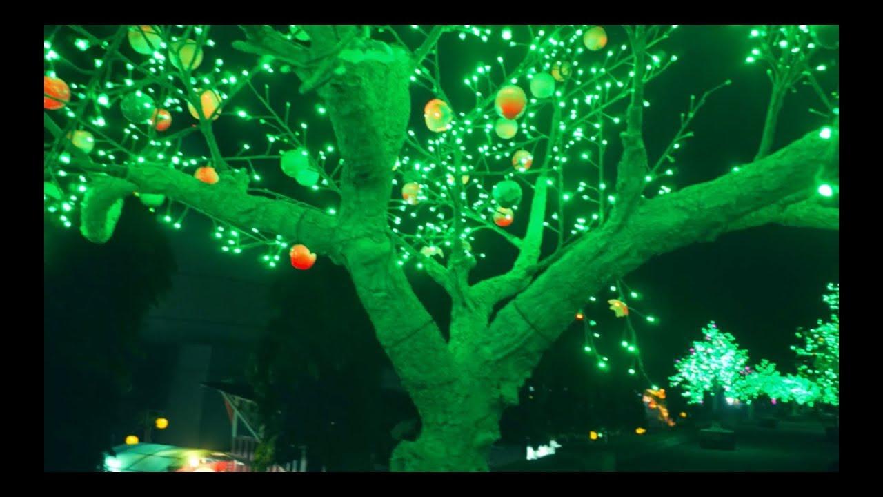 Lampu Pohon Led Untuk Dekoratif Taman Replika Pohon Youtube