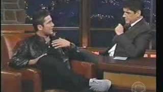 Craig Ferguson interviewing Gerard Butler