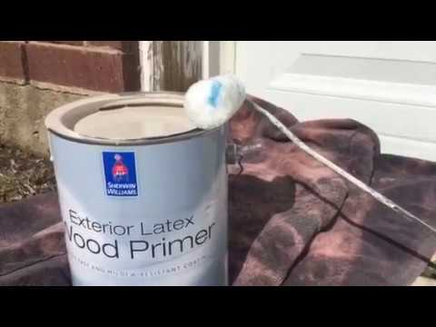 Exterior Wood Primer Sherwin Williams Youtube