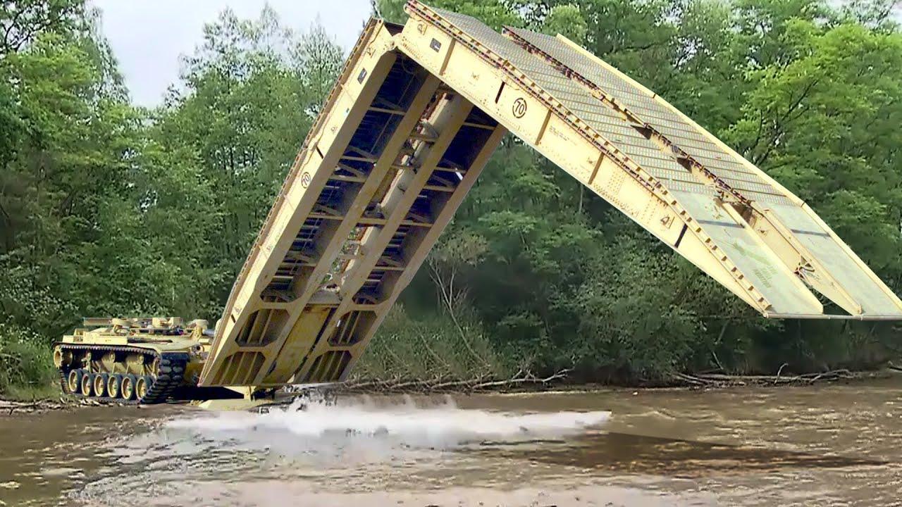 US Transformer Bridge Tank in Action