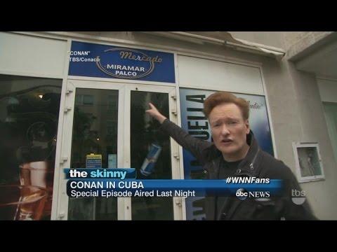 Conan O'Brien airs Cuba Episode