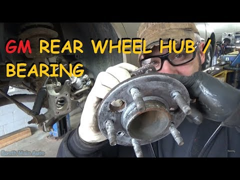 GM - Rear Wheel Bearing / Hub Assembly