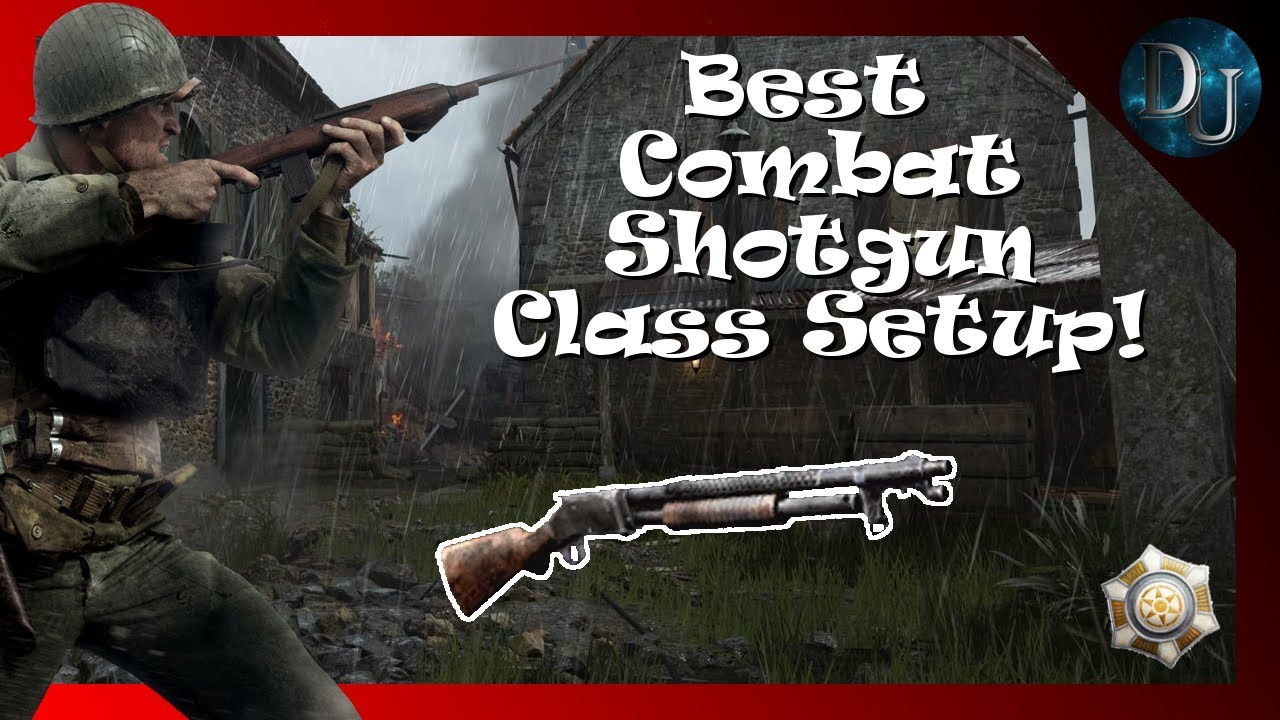 cod ww2 best combat shotgun setup