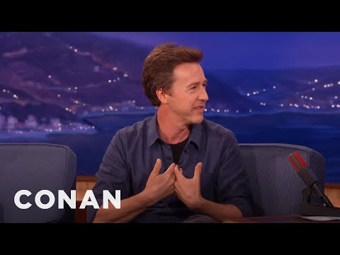 Edward Norton's Documentary Is All About Manhood  - CONAN on TBS