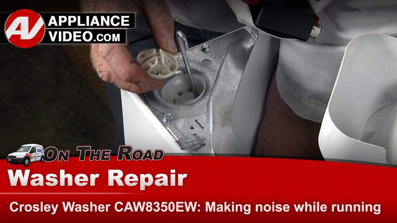 Crosley Whirlpool Washer Making Noise When Running Diagnostic Repair Youtube