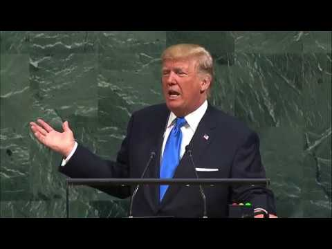 Donald Trump (USA) addresses the United Nations General Debate, 72nd session