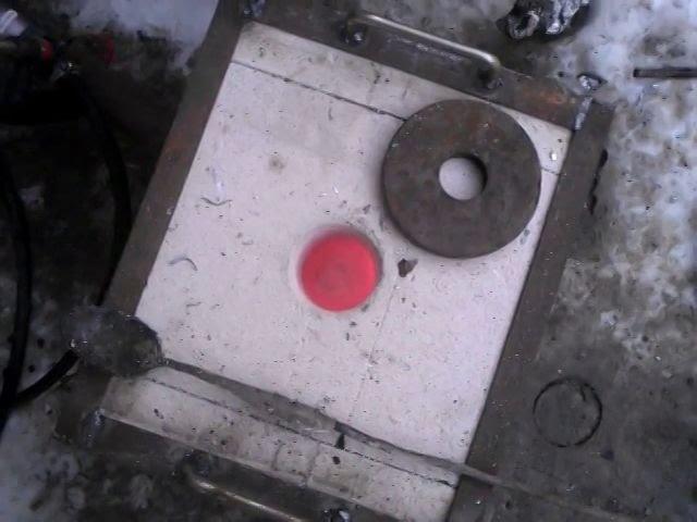 печь+ горн для плавки алюминия