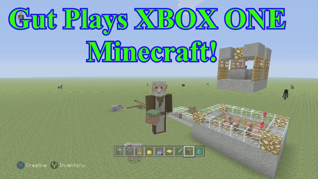 How to Breed Villagers - XBOX ONE Minecraft with ...