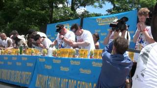 2011 Nathan's Hot Dog Eating Contest Qualifier, Fishkill, NY