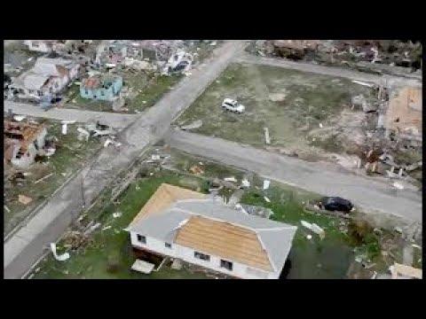 Barbuda's PM Takes Aerial Tour of Irma Destruction: 'Literally Rubble' #HurricaneIrma2017