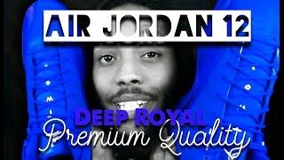 Air Jordan 12 Deep Royal (Premium Quality) My Thought's