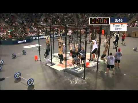 2010 CrossFit Games - Men's Event 1 Final Heat