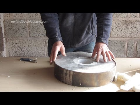 Metal Casting at Home Part 52 Oil Fired Furnace Build Part 4