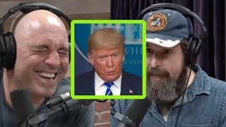 "Joe Rogan and Duncan Trussell Watch Trump's ""Disinfectant"" Video"