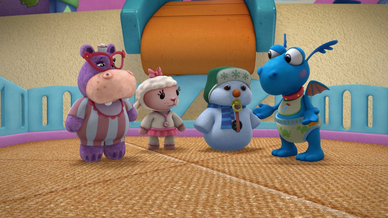 Toy Hospital Lambie And The Mcstuffins Babies Youtube