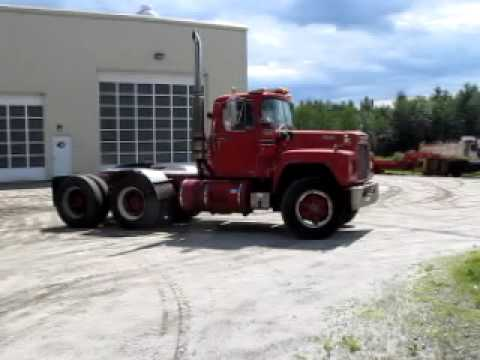 Mack Trucks For Sale >> 1985 Mack R 686 St Tractor Truck For Sale At Www Atthe Com Youtube
