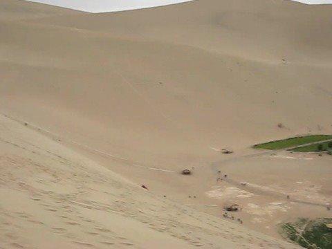 Dunhuang Sand Dune, Gansu Province, China