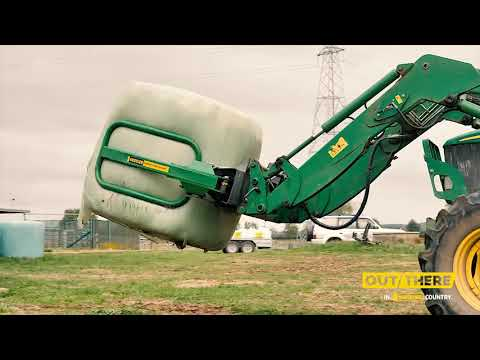 Why Does This Dairy Farmer Love His Softhands® Bale Handler And Other Hustler Machines?