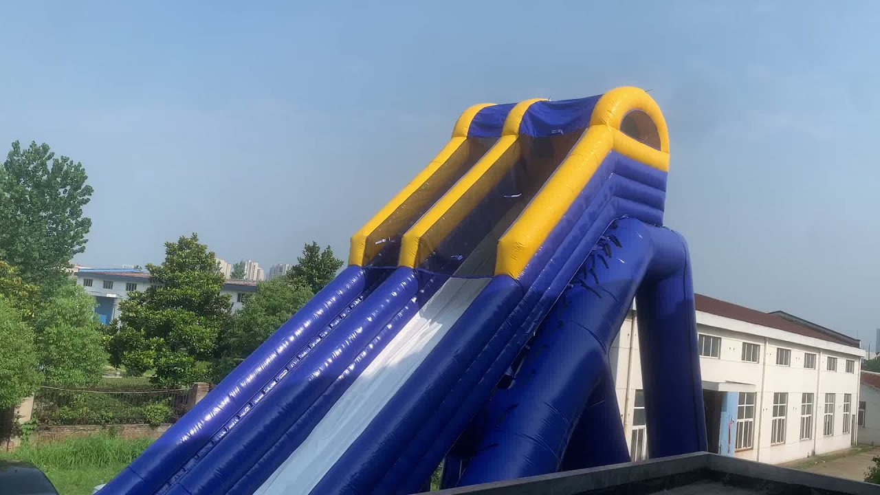 Inflatable Hippo Slide, giant inflatable water slide