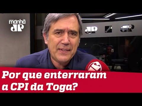 Por que os senadores enterraram a CPI da Toga antes que ela nascesse? | #MarcoAntonioVilla