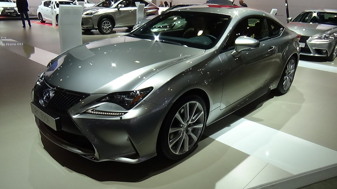 2016 lexus rc 300h privilege line exterior and. Black Bedroom Furniture Sets. Home Design Ideas