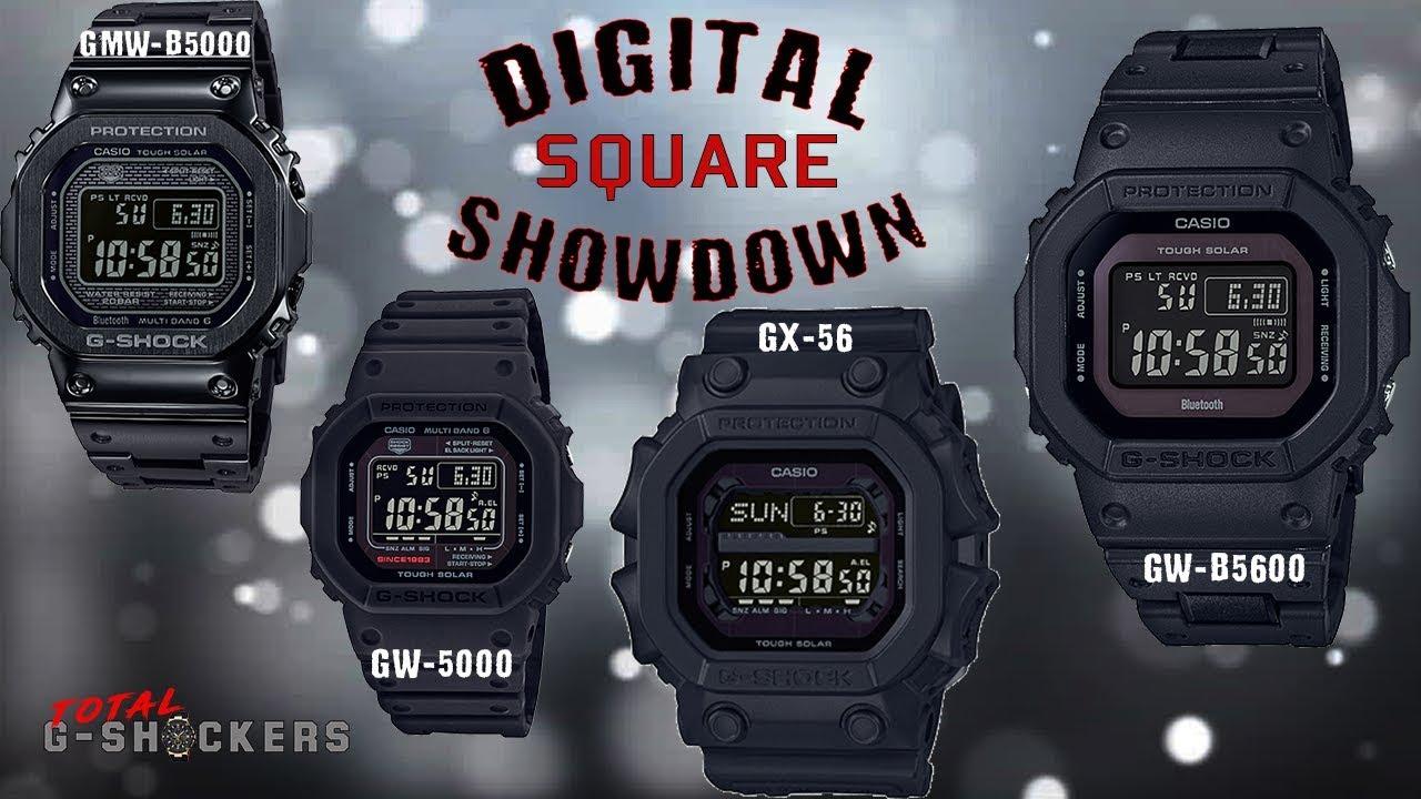 193a3dec575c Casio G-Shock Classic Square Comparison Review
