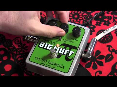 BRING BACK THE GREEN RUSSIAN MUFF Electro Harmonix Bass Big Muff with guitar demo