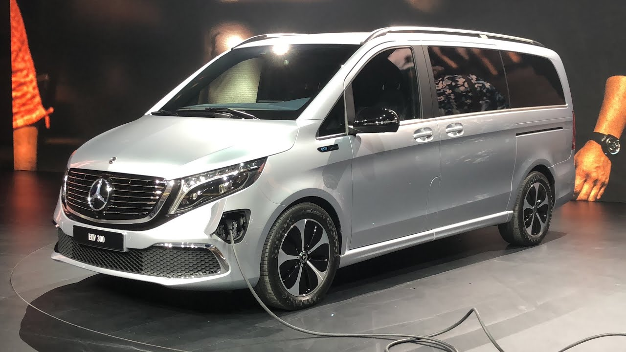 2020 Mercedes-Benz EQV 300 Debut at Frankfurt Motor Show 2019   In-Depth Video Walk Around - YouTube
