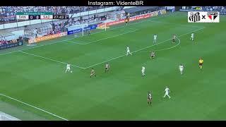 Rodrigo perde o gol mais fácil do Brasileirão! Santos x São Paulo