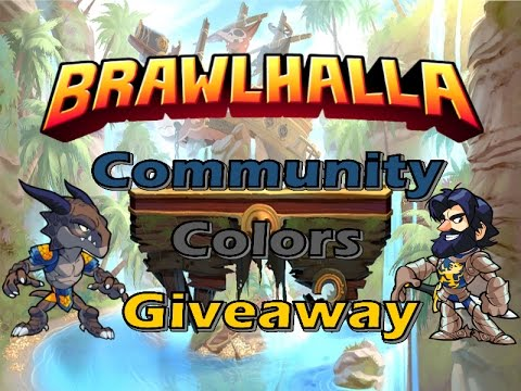 Brawlhalla Community Colors Giveaway 5