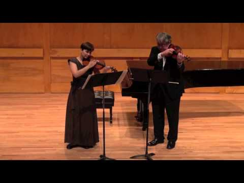 Duos for two violins (Bartók) -Andersen and Setzer