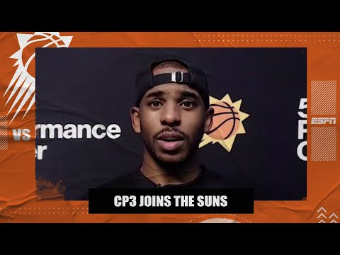 Chris Paul explains why he chose the Suns and talks Devin Booker's talent   NBA on ESPN