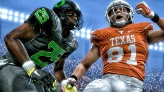 TEXAS vs OREGON NCAA FOOTBALL 18 ON MUT! Madden 18 Ultimate Team Gameplay