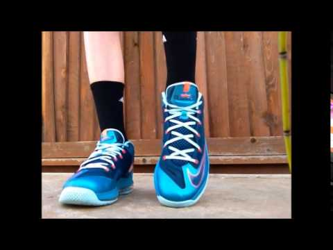 check out 70bcf 42c97 Nike Lebron 11 Low   Turbo Green   On Foot
