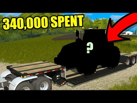 MOST EXPENSIVE TRACTOR ON THE FARM YET   EP#75   FARMING SIMULATOR 2017
