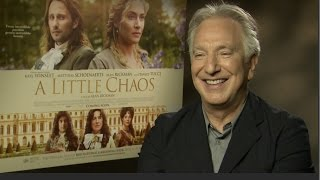 Alan Rickman talls Kate Winslet and the new James Bond