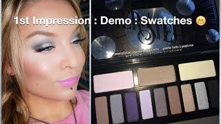 1st Impression : Demo : Kat Von D Innerstellar Eyeshadow Palette Thumbnail