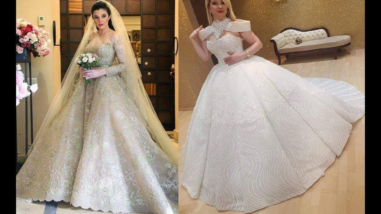 dbc3ce64e لاجمل عروسة ❤ كونى ملكة ليلة زفافك ❤ فساتين زفاف قمة الاناقة ❤ من احدث  صيحات الموضة العالمية ❤