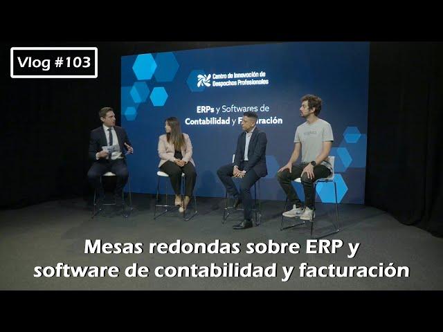 #103 Mesas redondas sobre ERP y software de contabilidad y facturación