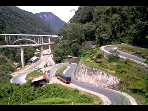 Jembatan layang kelok 9 payakumbuh sumbar