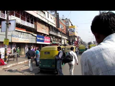Tourist in Northern India: Old Delhi