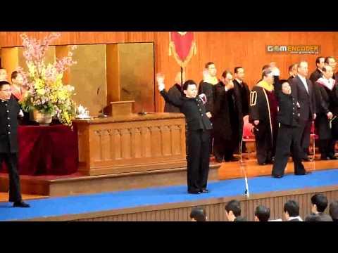 2009年度 早稲田大学卒業式 校歌斉唱