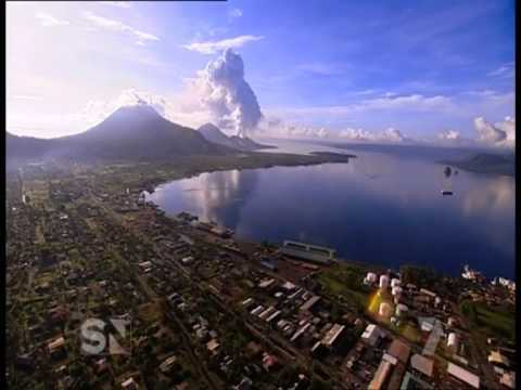 Tavurvur Volcano, East New Britain - PNG